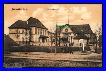 KĘDZIERZYN Kandrzin Dworzec kolejowy