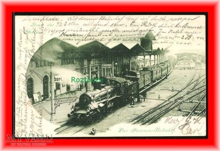 SZCZECIN Stettin, Dworzec kolejowy