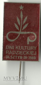 DNI KULTURY RADZIECKIEJ OLSZTYN IV 1980