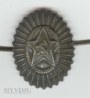 Emblemat na czapkę ZSRR 21