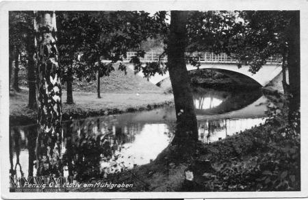 Most na kanale Młynówki