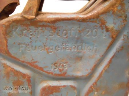 """Kanister 20L 1943 ,,Nowack Bautzen"""""""