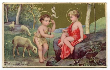 Wesołych Świąt Wielkanocnych Życzenia c. 1937