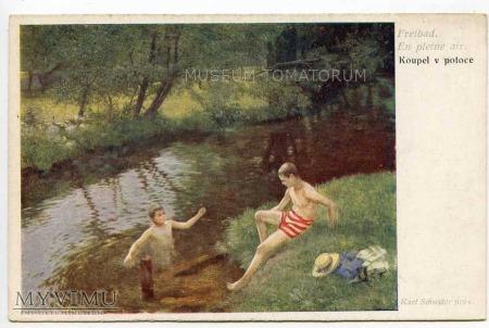 Schuster - Kąpiel w potoku