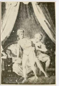 On i Ona w buduarze