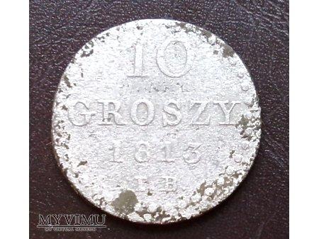 10 groszy z 1813 r.