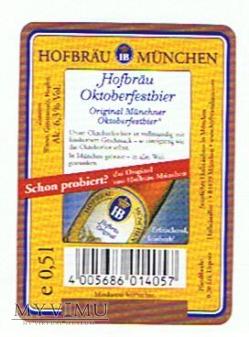 hofbräu münchen oktoberfestbier