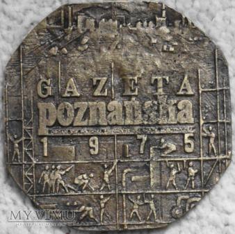 Medal Gazeta Poznańska1975