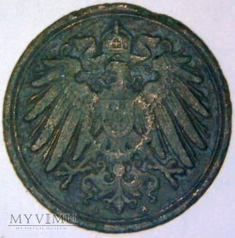 Wilhelm II Hohenzollern 1888-1918-1 PFENNIG 1890 A