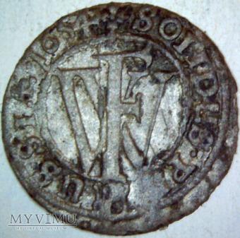 Fryderyk Wilhelm I (1640-1688)-szeląg 1654