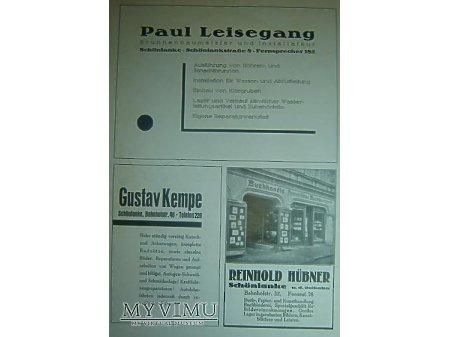 Przewodnik o Trzciance z 1930r.Reklama#5