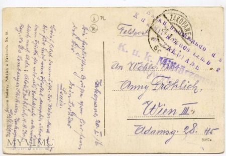 Zakopane - Widok ogólny - 1916