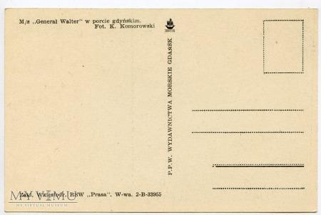 M/S Generał Walter - lata 1950-te