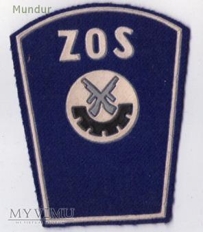 Dystynkcje ZOS służba porządkowo-ochronna