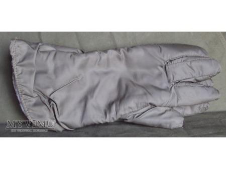 Rękawice zimowe ortalionowe khaki