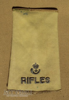 Wieka Brytania - oznaka stopnia: RIFLES