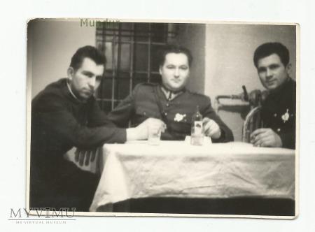 Zdjęcie żołnierzy, Sylwester 1956r.