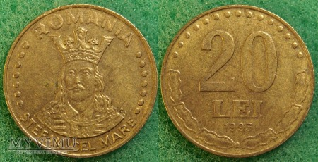 Rumunia, 20 Lei 1993