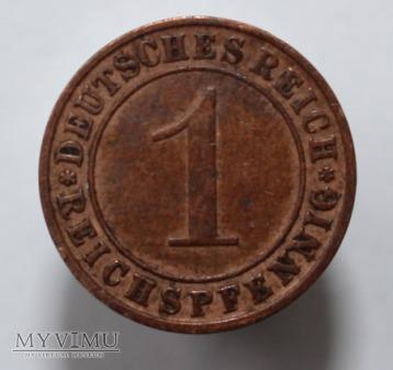 1 pfennig 1931