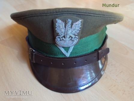 Czapka sierżanta WOP - gabardynowa