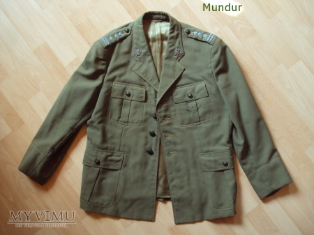 Mundur letni - tropik pułkownika WSW; lata 60-te