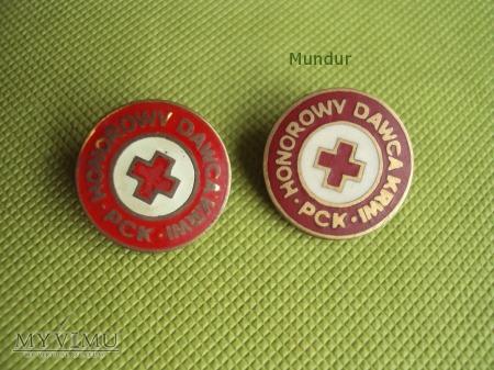 Złota odznaka Honorowy Dawca Krwi