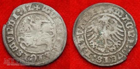 1512, półgrosz litewski