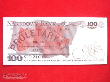 100 złotych 1976 rok