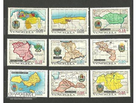 Wenezuelskie znaczki.