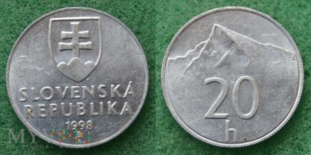 Słowacja, 20 Halierov 1998