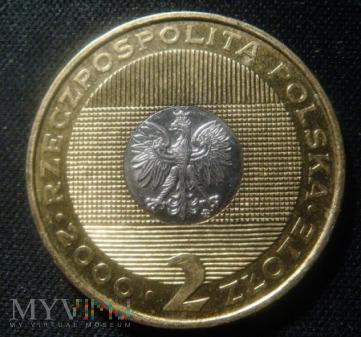 2 zł, Rok 2000 - przełom tysiącleci