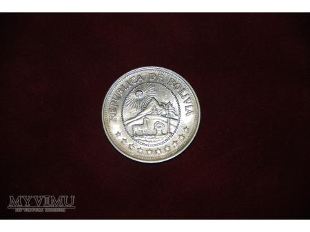 - Boliwia - 5 pesos - 1980