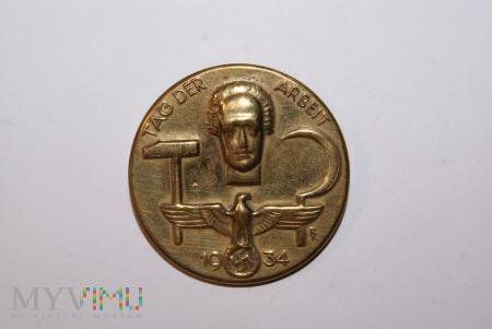 Duże zdjęcie Odznaka TAG DER ARBEIT 1934