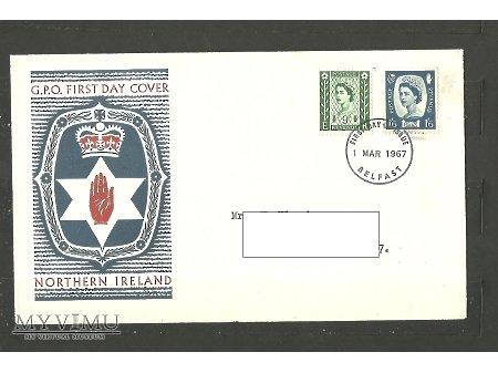 Brytyjskie koperty FDC