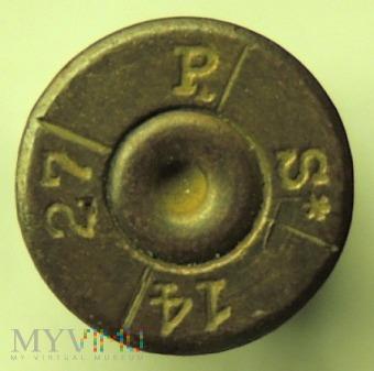 Łuska 7,92x57 P S* 14 27 z podziałem na sektory