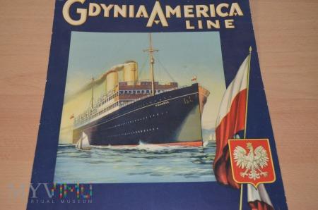 S/S Polonia Kalendarz Gdynia America Line
