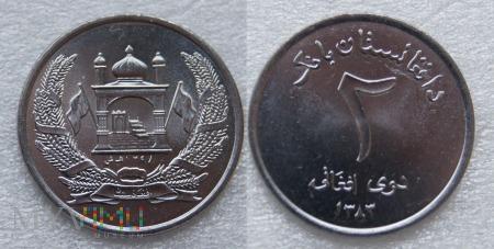 Afganistan, 2 afghanis
