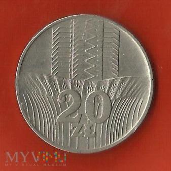 Polska 20 złotych, 1976