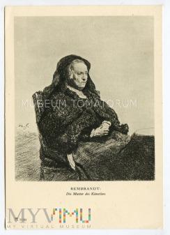 Rembrandt - Matka artysty