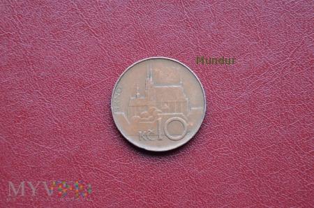 Moneta czeska: 10 korun českých