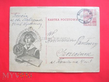Kartka pocztowa 1953 rok
