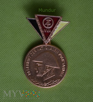 Medal - Reservist der NVA - brązowy