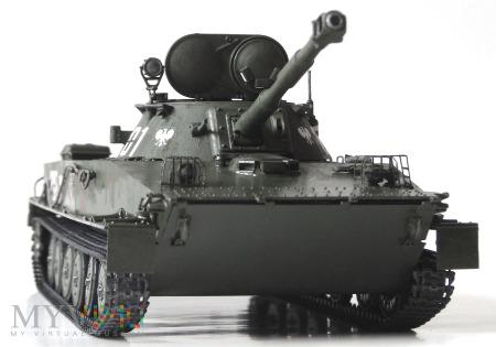 Lekki czołg pływający PT-76