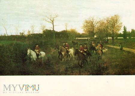 Wyjazd na polowanie 1871