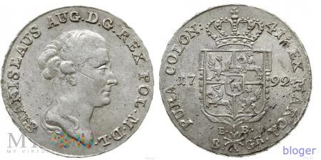1792 - 27.f – odmiana z litermi E.B. na rewersie