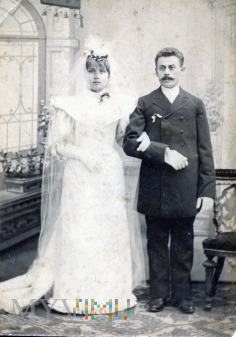Duże zdjęcie Portret ślubny