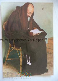 Ojciec Pio z Pietrelciny - kartka pocztowa