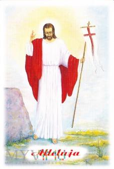 Duże zdjęcie Jezus zmartwychwstały
