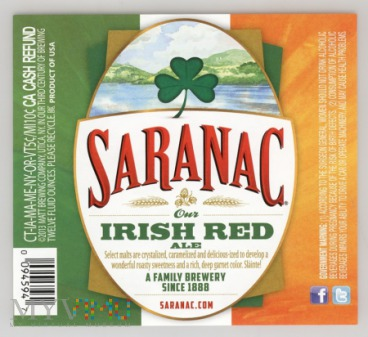 Saranac, Irish Red