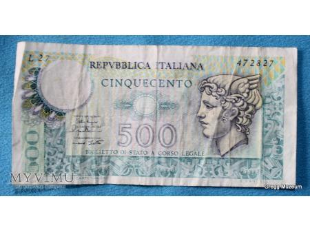 500 Lirów